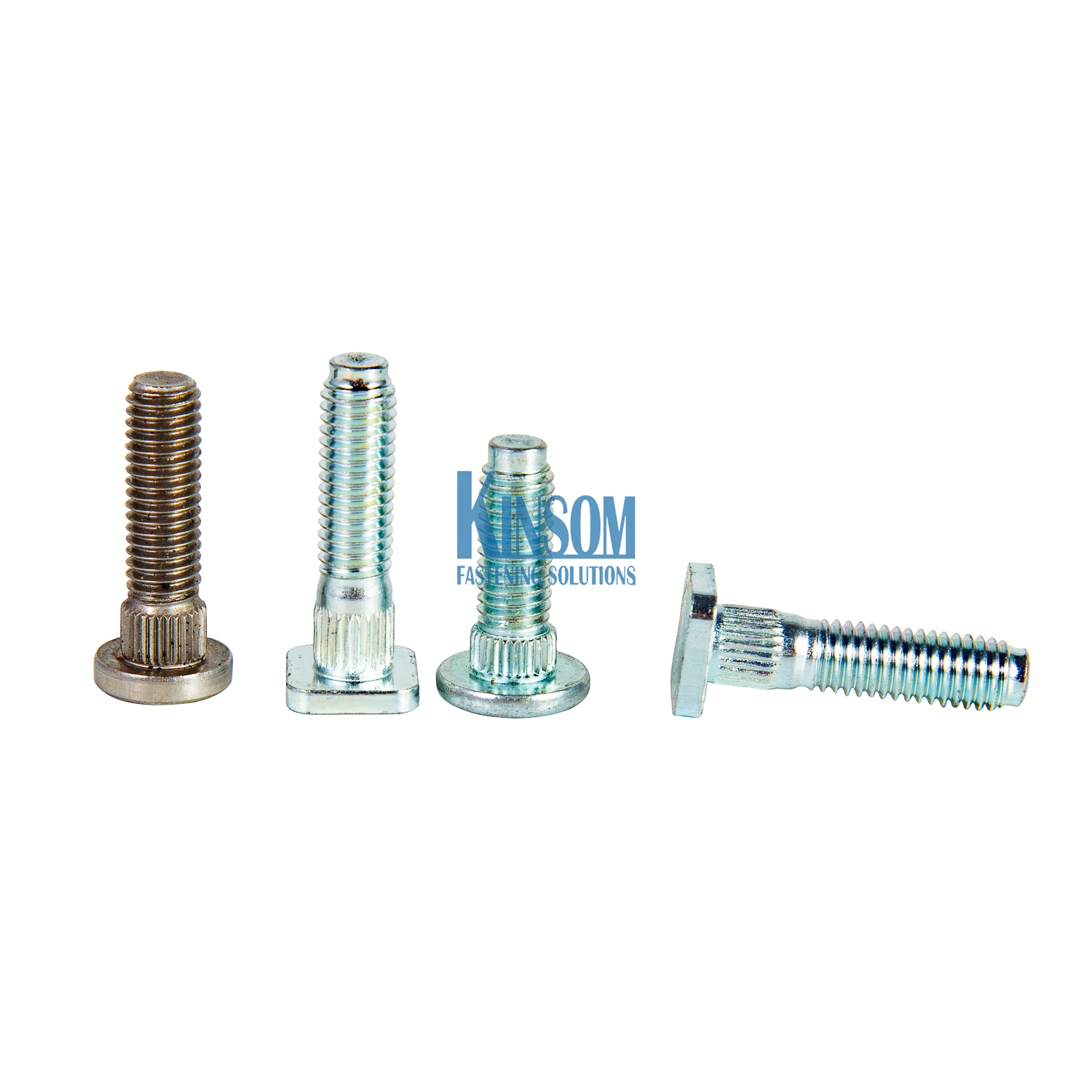 square knurled head machine screws automotive fasteners from kinsom